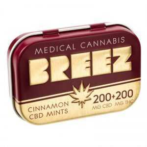 Cinnamon CBD Mints: 200mg CBD + 200mg THC | Buy Edibles Online