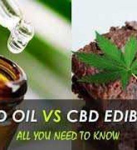 CBD Oil vs. CBD Edibles: A Critical Review